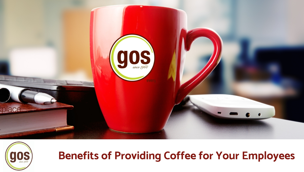 Logoed coffee cups from GOS